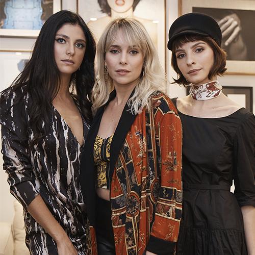 Tammy Di Calafiori, Fernanda Nobre e Giselle Batista marcam presença em evento em São Paulo