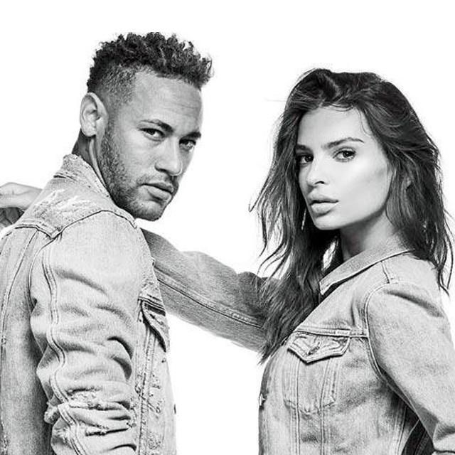 Neymar Jr e Emrata encaram zumbis na nova campanha da Replay para o exclusivo jeans Hyperflex
