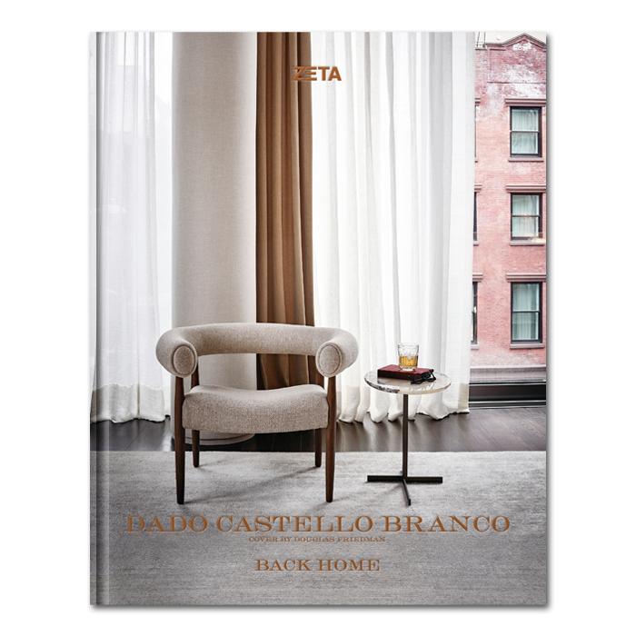 Dado Castello Branco lança segundo livro com coletânea de projetos residenciais